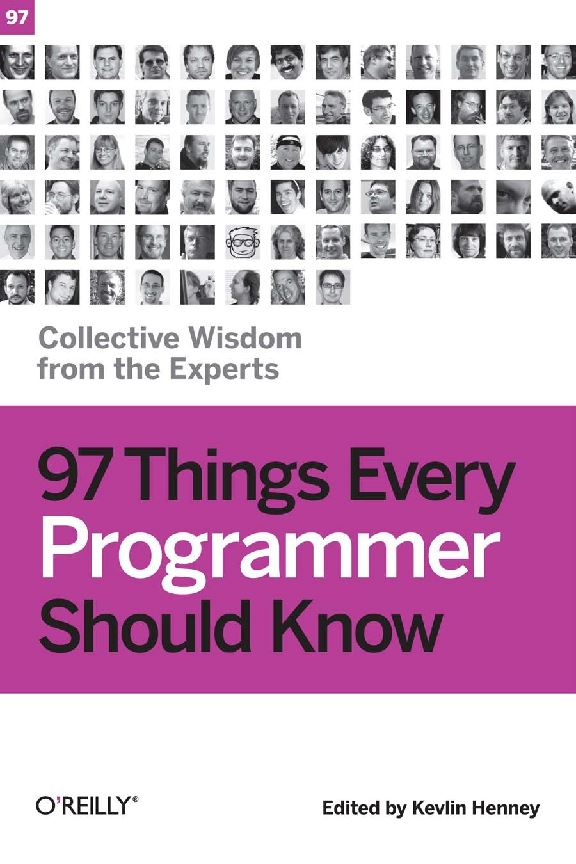 ۹۷ چیزی که هر برنامه نویس باید بداند