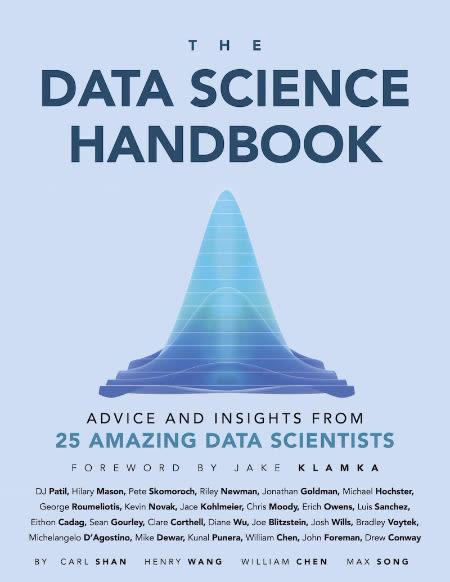 Data science handbook مصاحبه با ۲۵ متخصص علم داده