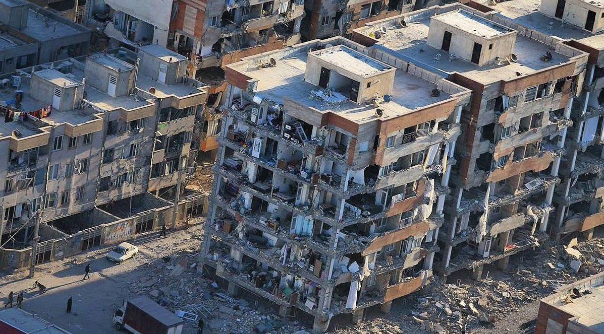 زلزله هفت ریشتری کرمانشاه